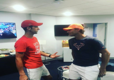 _Class act Rafael Nadal lauds Novak Djokovic for contributing to relief fund Tennis News - Times of India